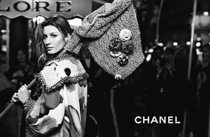 Gisele Stuns for Chanel