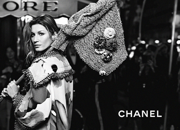 Gisele Stuns for Chanel