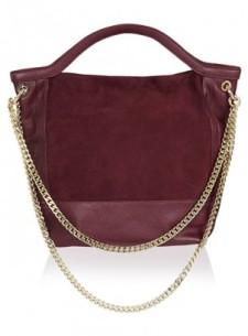Dani Suede & Plain Leather, $400,