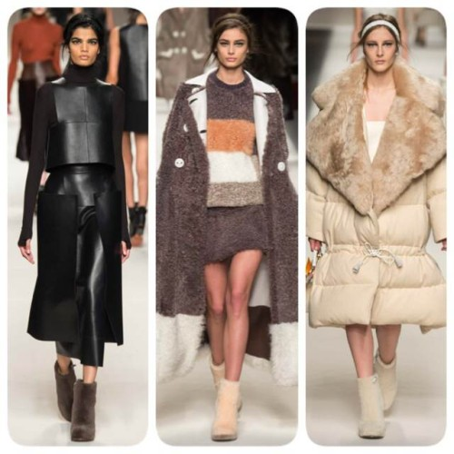 Fendi Gets Furry in Milan For Fashion Week