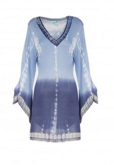 Letarte, Ocean Blues Tie Dye Tunic, $328