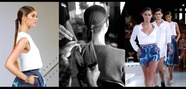 Hair Report: L'Oreal Professional X Kookai AW 15