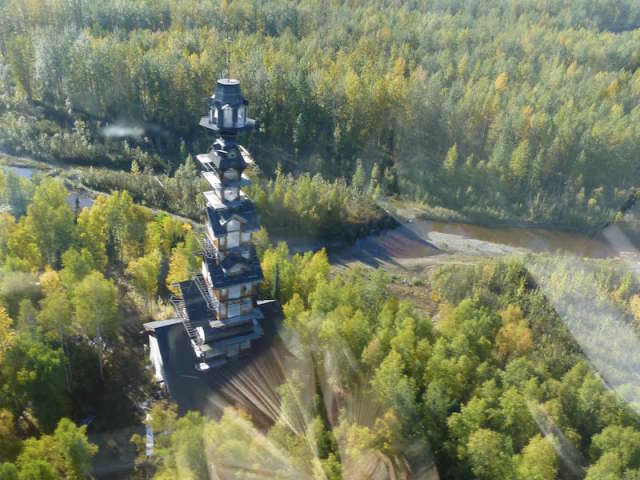 A Whimsical Hideaway: The Dr. Seuss House in Willow, Alaska