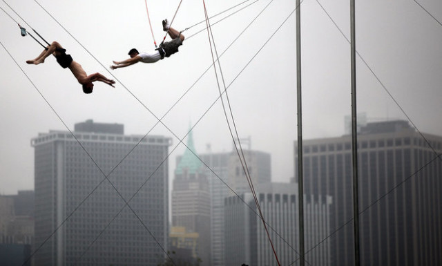I Fly High: Flying Trapeze School in NYC
