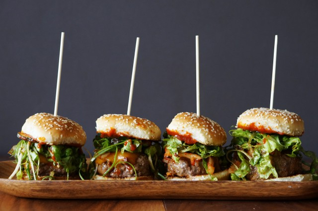 Korean Gochujang BBQ Sliders