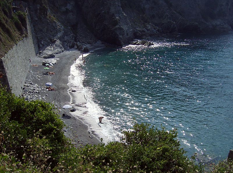 Italy-Spiaggia di Guvano